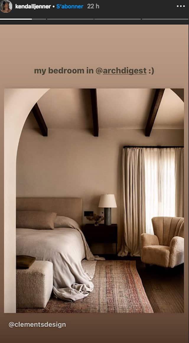 Kendall Jenner: la décoration de sa chambre fait sensation !