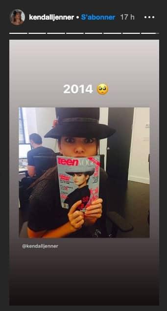 Kendall Jenner nostalgique de ses shootings pour Vogue en 2015 !