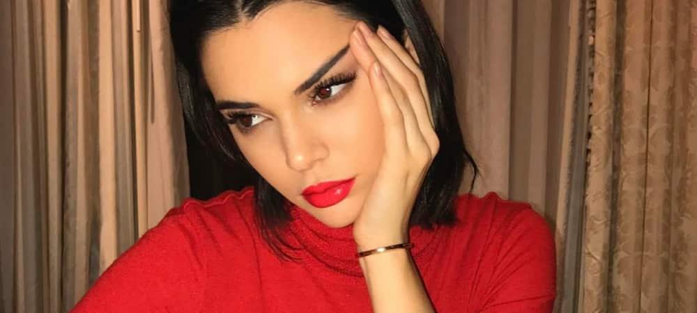 Kendall Jenner se dévoile au réveil sur Instagram