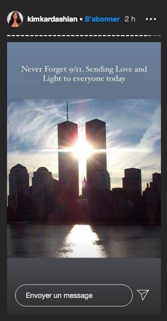 Kim Kardashian rend hommage aux victimes du 11 septembre 2001 !