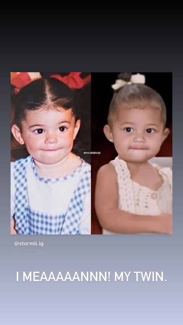 Kylie Jenner: sa fille Stormi lui ressemble beaucoup !