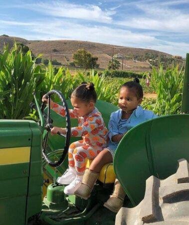 Kylie Jenner: sa fille Stormi s'entend à merveille avec sa cousine True
