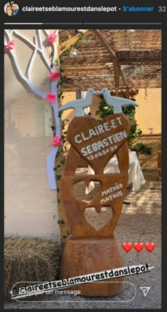 mariés - L'amour est dans le pré: Claire et Sébastien enfin mariés !