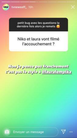 Laura Lempika (Les Marseillais) va-t-elle filmer son accouchement ?