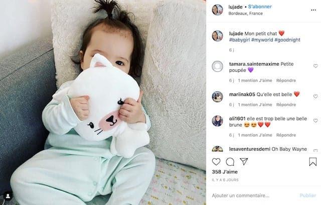Lucie (L'amour est dans le pré) dévoile une adorable photo de sa fille !