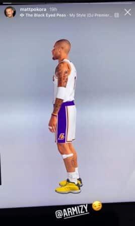M Pokora crée un joueur à son effigie dans le jeu NBA 2K !