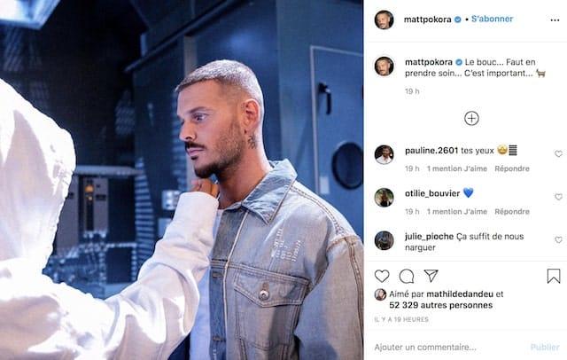 M Pokora dévoile les coulisses de son futur clip sur Instagram !