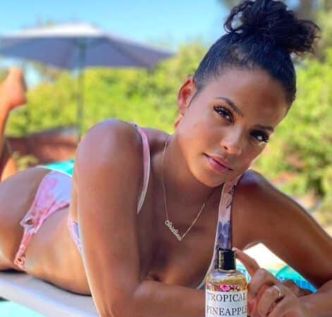 M Pokora: sa chérie Christina Milian sexy allongée en bikini sur Instagram !