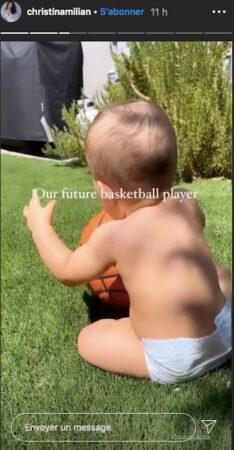 M Pokora- son petit Isaiah a tout d'un futur grand basketteur 640