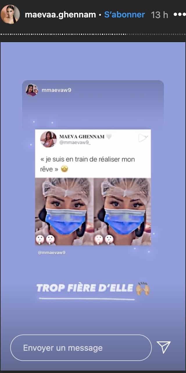 Maeva Ghennam en dit plus sur son projet secret «Je réalise mon rêve» !