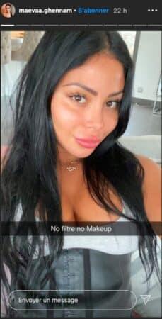 Maeva Ghennam se dévoile sans filtre et sans make up sur Instagram !