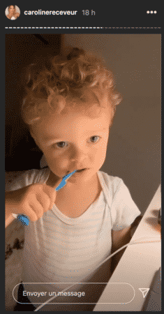 Marlon se brosse les dents comme un grand