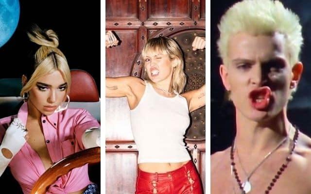 Miley Cyrus collaborent avec Dua Lipa et Billy Idol sur son nouvel album !