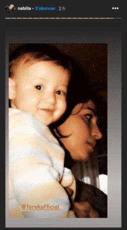 Nabilla dévoile une adorable photo de son petit frère Tarek !