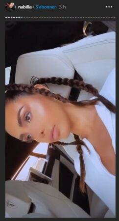 Nabilla sa nouvelle coiffure fait sensation sur Instagram