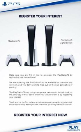 PS5: elle pourrait être disponible à 549 euros seulement !