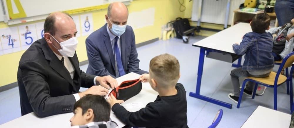 Rentrée 2020: Jean Castex tente de rassurer les enseignants !