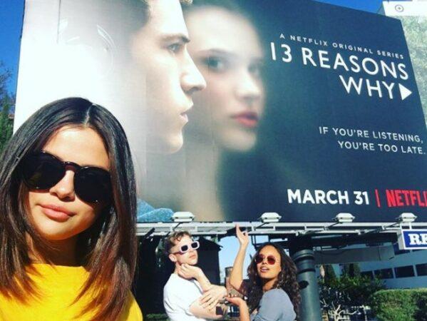 Selena Gomez avait besoin de s'occuper de la série 13 Reasons Why