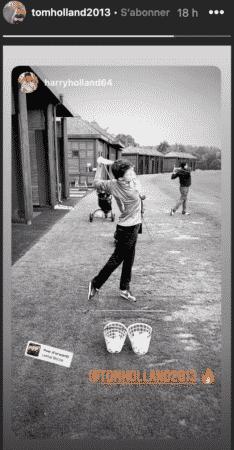 Tom Holland est un grand amateur de golf