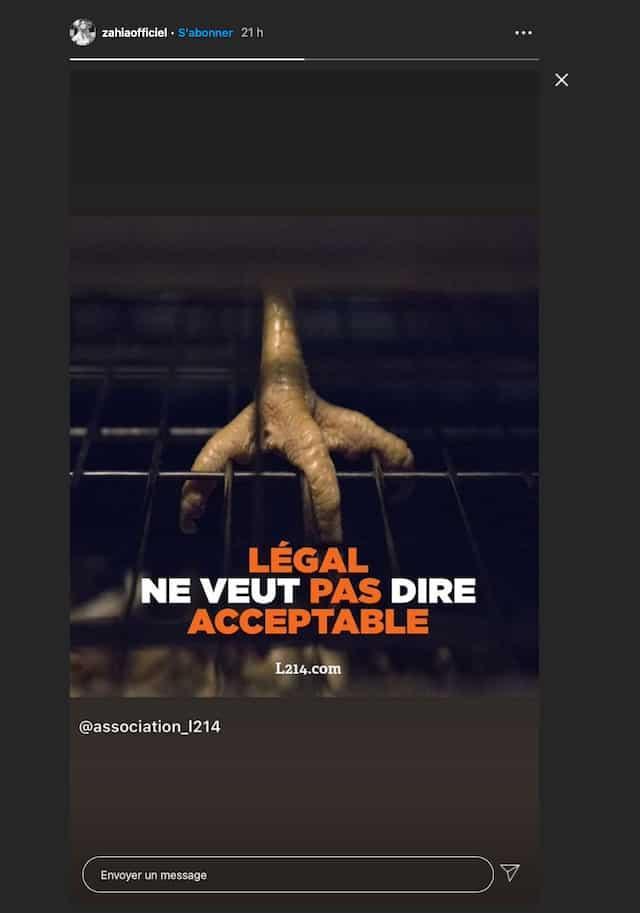 Zahia Dehar: l'icône sexy lutte contre le mauvais traitement des animaux !