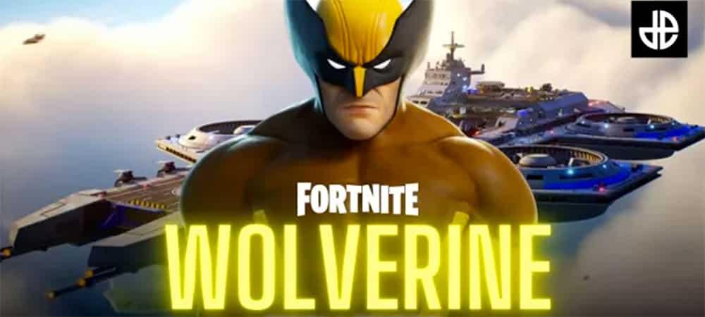 Fortnite: Wolverine fait son entrée dans le jeu vidéo