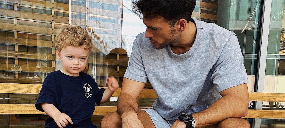 Hugo Philip partage un doux moment avec son fils Marlon !