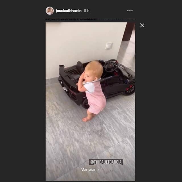 Jessica Thivenin: son fils Maylone effectue ses premiers pas !