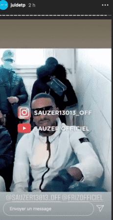 Jul tease le nouveau clip des rappeurs marseillais Sauzer et Friz 14102020-