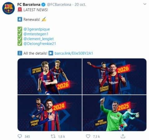 Messi et Griezmann ne veulent pas venir en aide le FC Barcelone !