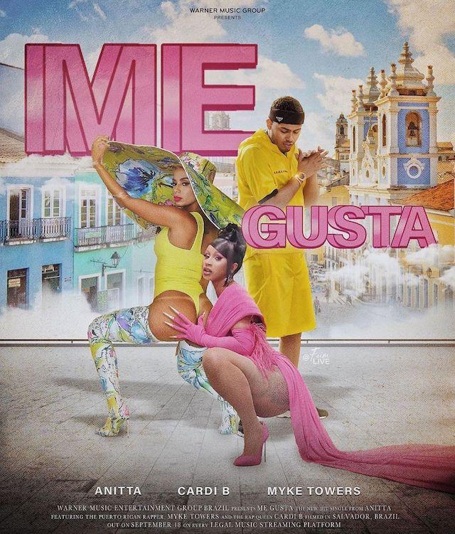 Cardi B: son feat «Me Gusta» avec Anitta bientôt remixé par 24kGoldn !