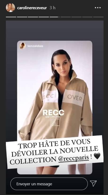 Caroline Receveur dévoile un peu la nouvelle collection RECC Paris !