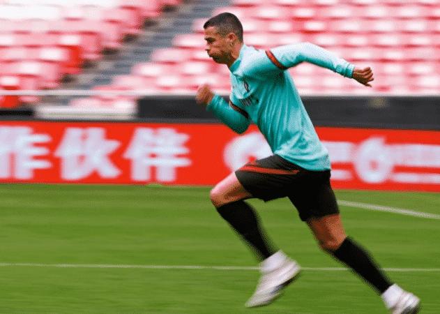 Cristiano Ronaldo sur Instagram