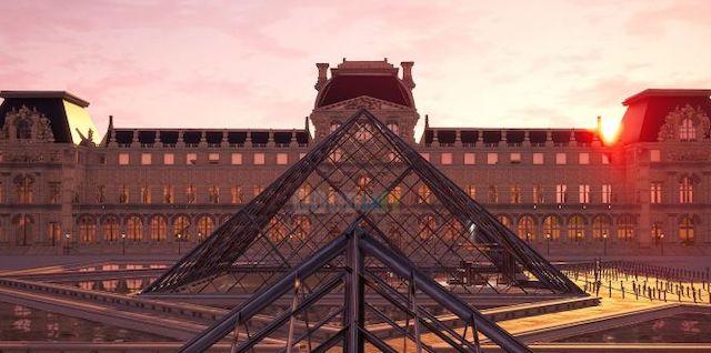 Fortnite/ le musée du Louvre fait aussi son entrée dans le jeu vidéo !