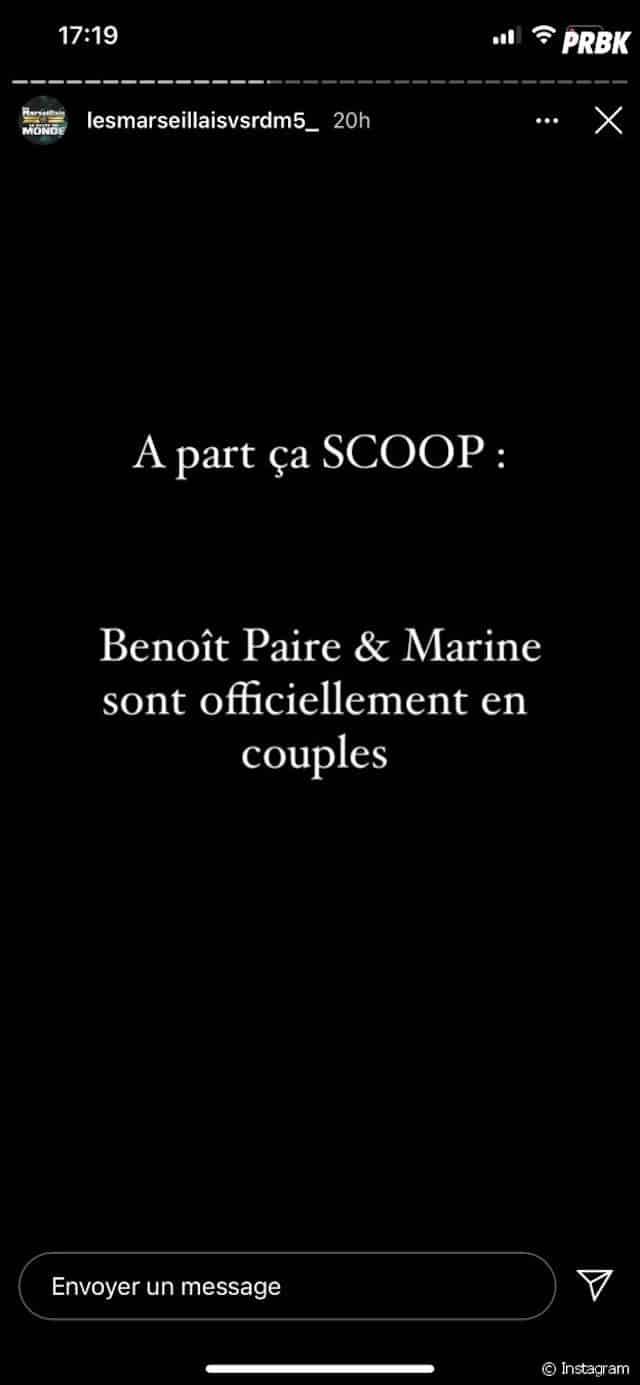 Marine El Himer (Les Marseillais) de retour avec son ex Benoît Paire ?
