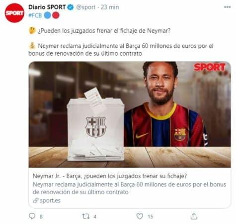 Neymar: la star du PSG pourrait retourner au FC Barcelone !