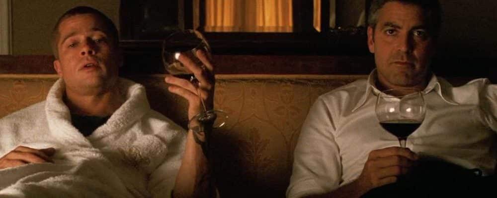 Brad Pitt enfermé dans une maison hantée pour le tournage de Ocean's Twelve !