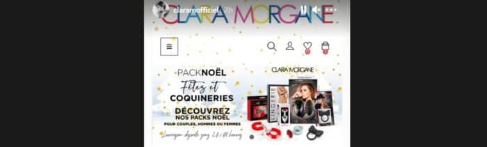Clara Morgane incite tous ses fans à se faire plaisir pour Noël !