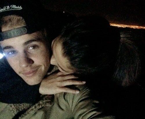 Justin Bieber et Selena Gomez en 2014