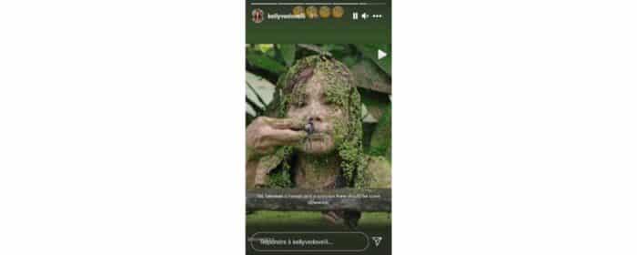 Kelly Vedovelli choquée par une étrange vidéo sur Instagram !11