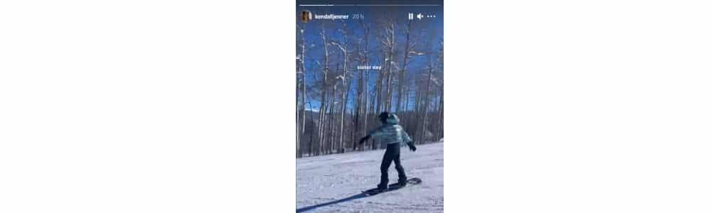 Kendall Jenner et Kylie fêtent la fin de l'année sur les pistes de ski !