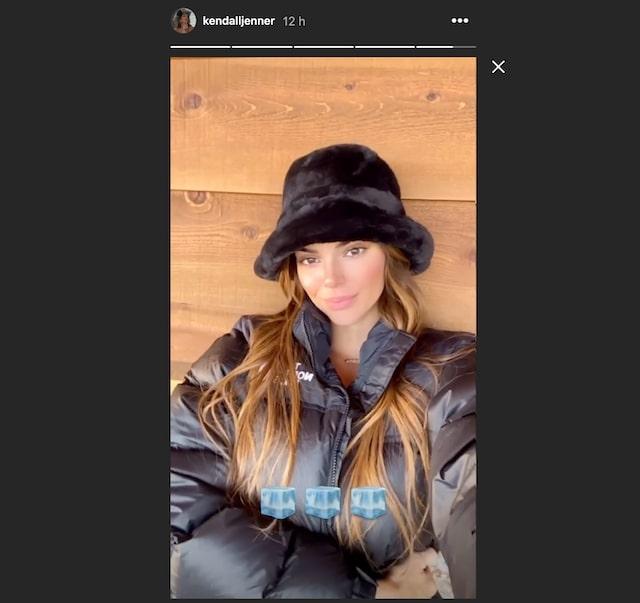 Kendall Jenner très mimi et congelée comme un glaçon en maxi doudoune !
