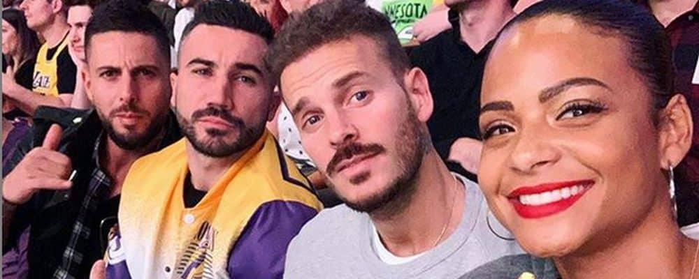 M Pokora toujours aussi à fond derrière les Lakers sur Instagram !