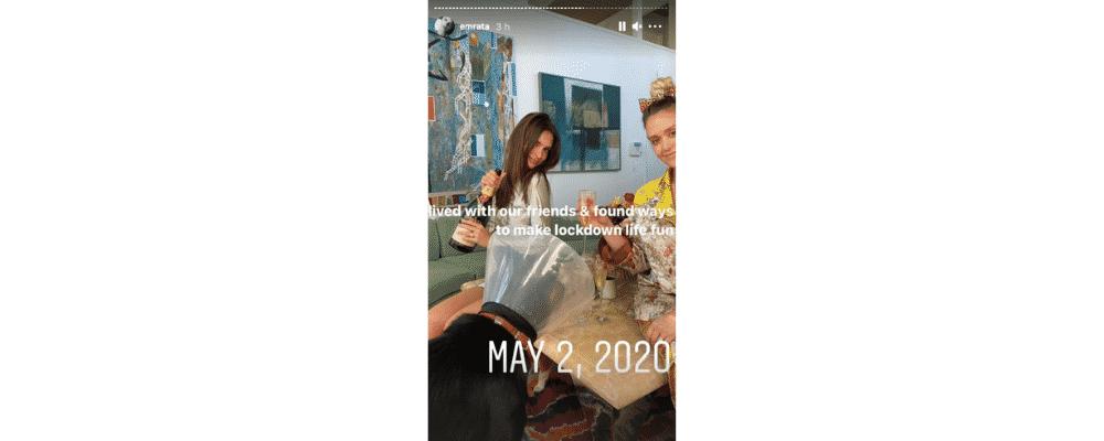 Emily Ratajkowski partage ses meilleurs souvenirs de l'année 2020 !