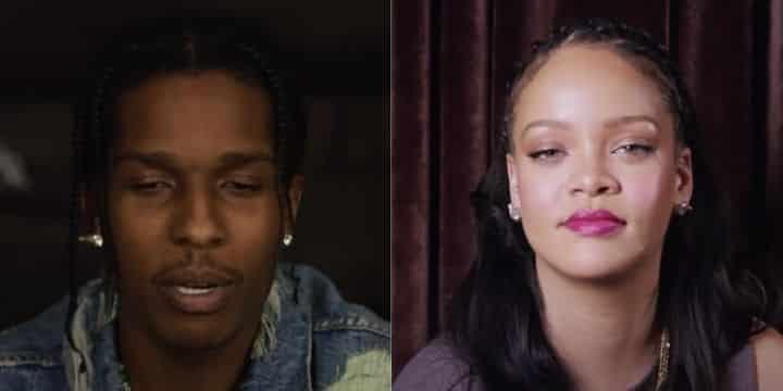 Rihanna et A$AP Rocky s'affichent très amoureux à la Barbade !