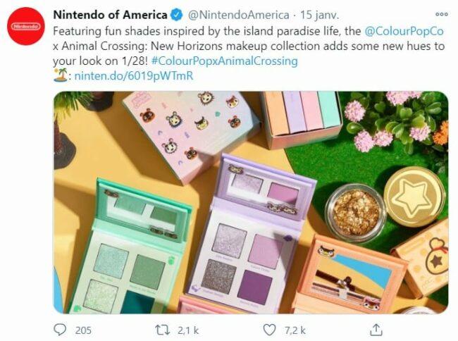 Animal Crossing se lance dans la beauté et sort sa collection de make up !