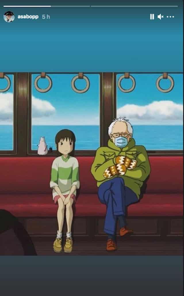Asa Butterfield (Sex Education) passionné par «Le Voyage de Chihiro» !
