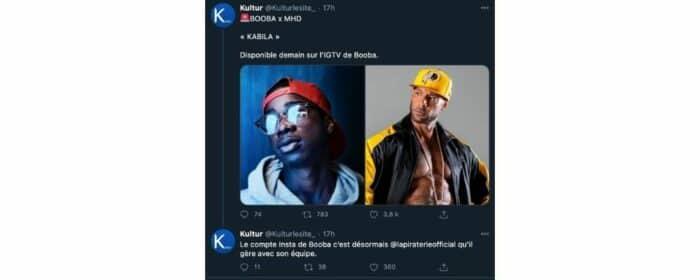 Booba devrait dévoiler son feat «Kabila» avec MHD sur Instagram