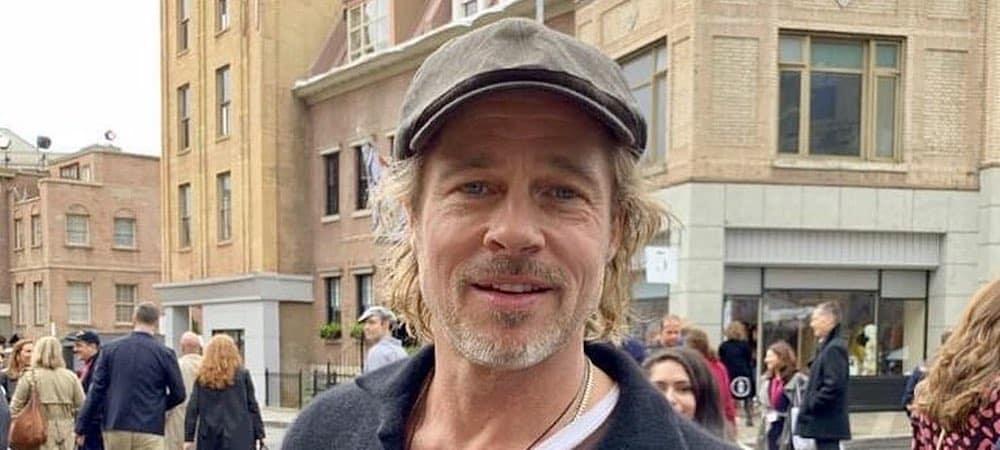 Brad Pitt: son champagne Miraval dans un film documentaire à Cannes !