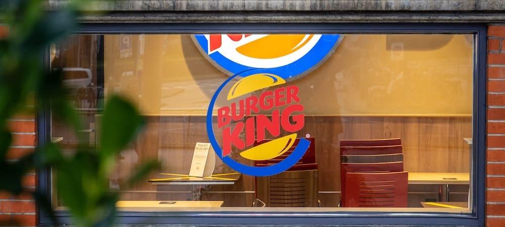 Burger King affole les clients avec un message étrange !