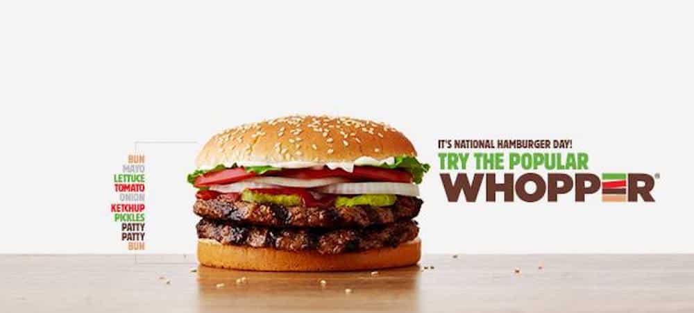 Burger King commercialise le plus gros burger de toute son histoire !